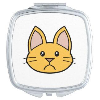 Orange Cat FACE0000002 Compact Mirror 01