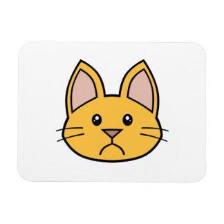 Orange Cat FACE0000002 Flexible Magnet 01
