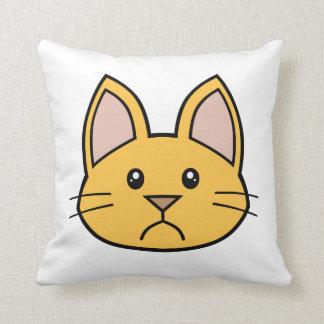 Orange Cat FACE0000002 Flexible Pillow 01 Pillow