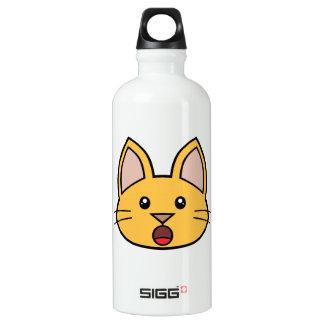 Orange Cat FACE0000005 01 SIGG Traveler 0.6L Water Bottle