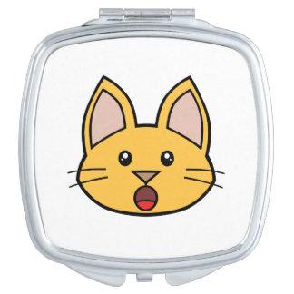 Orange Cat FACE0000005 Compact Mirror 01 Makeup Mirrors