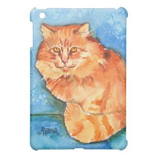 Orange Cat iPad Mini Cover