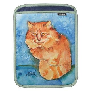 Orange Cat iPad Sleeves
