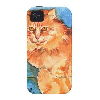 Orange Cat iPhone 4/4S Covers