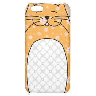 'Orange Cat' iPhone 4 Case