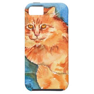 Orange Cat iPhone 5 Covers