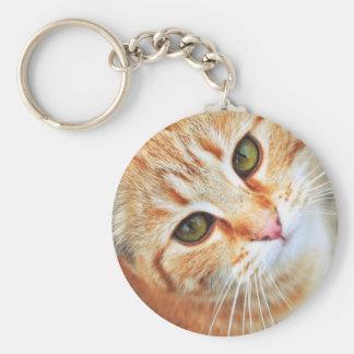 Orange Cat  Key Chain