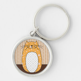 'Orange Cat' Keychain