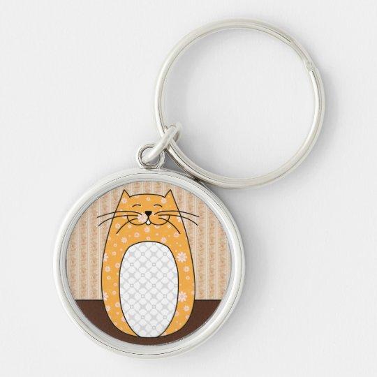 'Orange Cat' Keychain