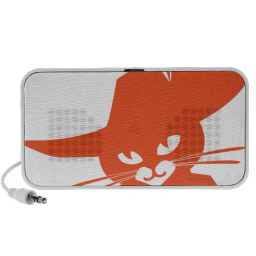 Orange Cat Mini Speaker