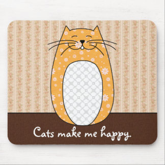 'Orange Cat' Mousepad