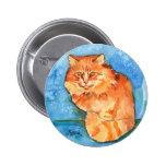 Orange Cat Pins