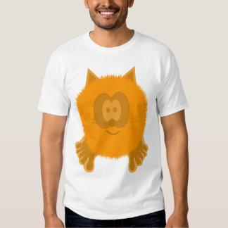 Orange Cat Pom Pom Pal Shirt