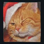 """Orange cat - Santa claus cat - merry christmas Bandana<br><div class=""""desc"""">, &quot;christmas , kitty , feline , xmas&quot; , &quot;cute kittens &quot;, &quot;funny cats&quot; , &quot;cute cats&quot; , &quot;pet cat&quot;, &quot;christmas cat &quot;, &quot;cat christmas&quot; ,  &quot;santa cat &quot;, &quot;kitten cat&quot; , &quot;xmas christmas&quot; , </div>"""