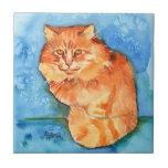 Orange Cat Tiles