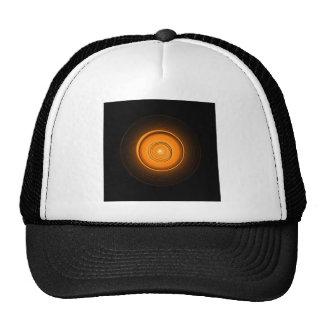 Orange Ceramic Sun Trucker Hat