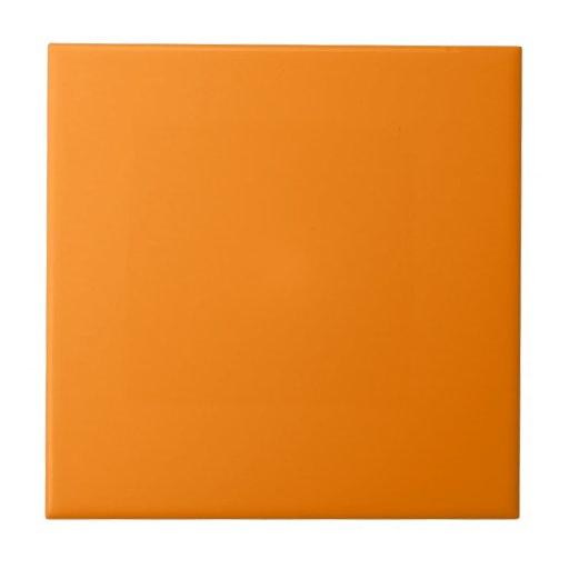 Orange Ceramic Tile