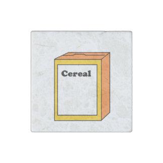 Orange Cereal Box Cartoon Stone Magnet