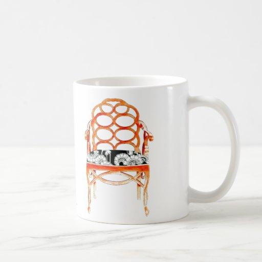 Orange Chair Mug