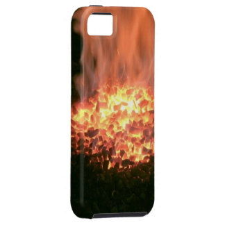 Orange Charcoal - iPhone 5/5S, Vibe iPhone SE/5/5s Case
