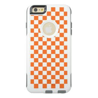 Orange Checkerboard OtterBox iPhone 6/6s Plus Case