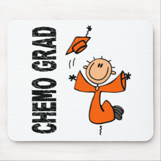 Orange CHEMO GRAD 1 (Kidney Cancer) Mouse Pad