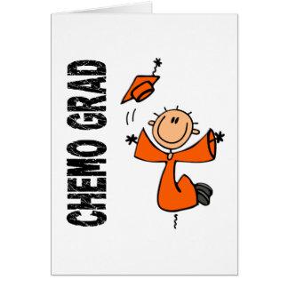 Orange CHEMO GRAD 1 (Leukemia) Card
