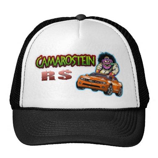 Orange Chevy Camaro RS Hat
