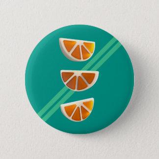 Orange Chew Candy Pinback Button
