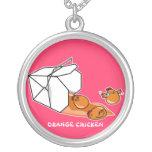 Orange Chicken Escape Custom Necklace