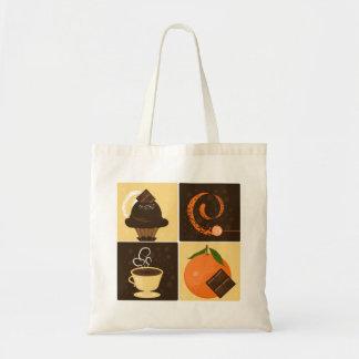 Orange Chocolate Tote Tote Bag