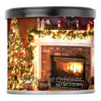 Orange Christmas Colorful Hot Chocolate Drink Mix
