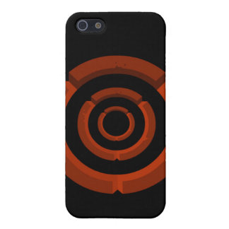 orange circle iPhone 5 cases