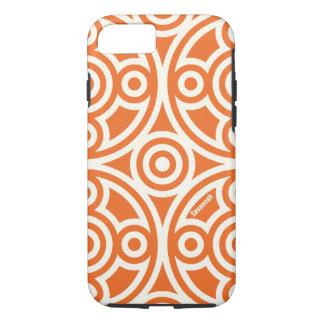 Orange Circle Link Personalized iPhone iPhone 7 Case