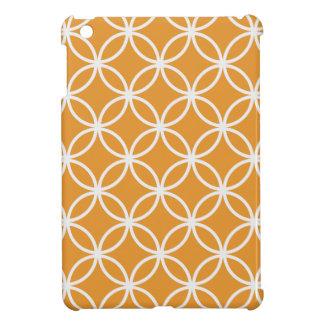 Orange Circular Pattern Cover For The iPad Mini