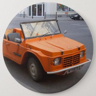 Orange Citroën Mehari Button