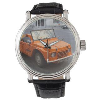 Orange Citroën Mehari Wrist Watch