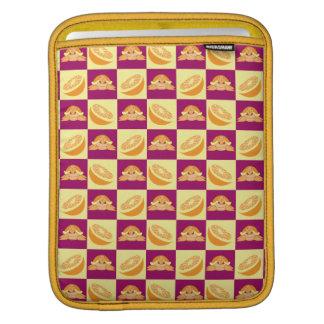 Orange Citrus Fruit Turtle Pattern Sleeve For iPads