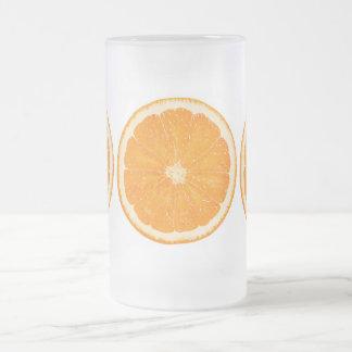 Orange citrus mug