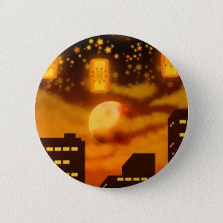 Orange City Nights Button
