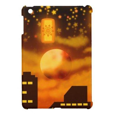 Halloween Themed Orange City Nights iPad Mini Cases