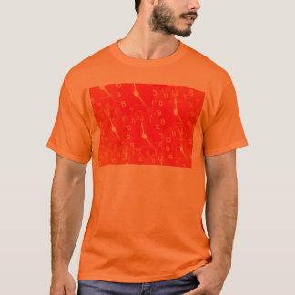 Orange Clock Face T-Shirt