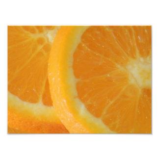 Orange Closeup Photographic Print