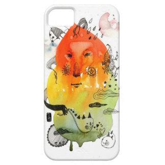 Orange Cloud iPhone 5 Cover