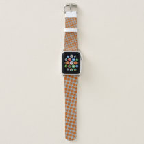 Orange Clover Ribbon by Kenneth Yoncich Apple Watch Band