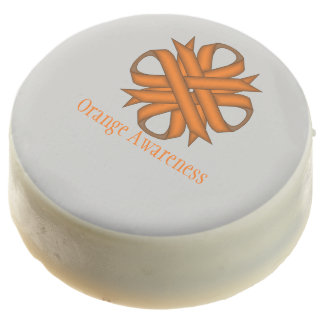Orange Clover Ribbon by Kenneth Yoncich Chocolate Dipped Oreo