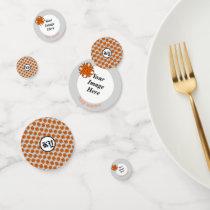 Orange Clover Ribbon by Kenneth Yoncich Confetti