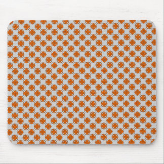 Orange Clover Ribbon by Kenneth Yoncich Mouse Pad
