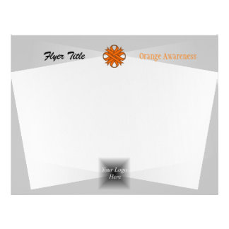 Orange Clover Ribbon Flyer