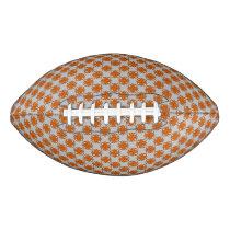 Orange Clover Ribbon Football